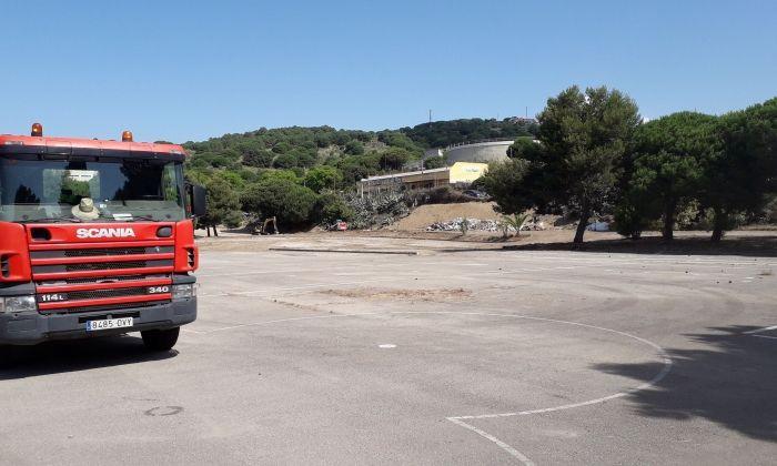Inici de les obres. Foto: Ajuntament de Mataró