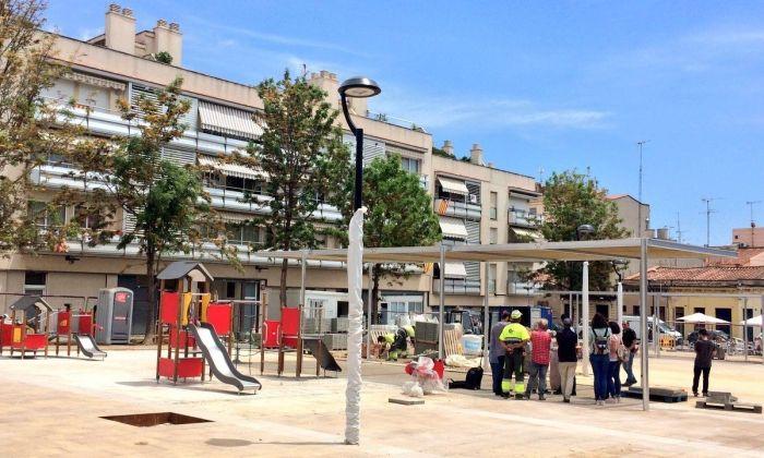 La plaça Lluís Gallifa. Foto: Ajuntament