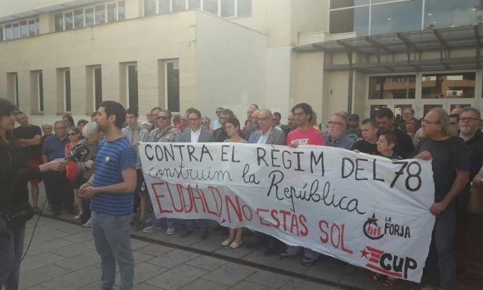 Calvo, als jutjats. Foto: Cedida