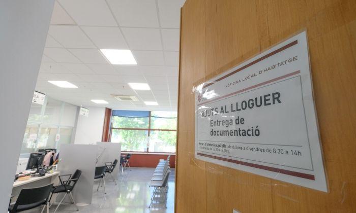 Oficina Local d'Habitatge de Mataró. Foto: R.Gallofré