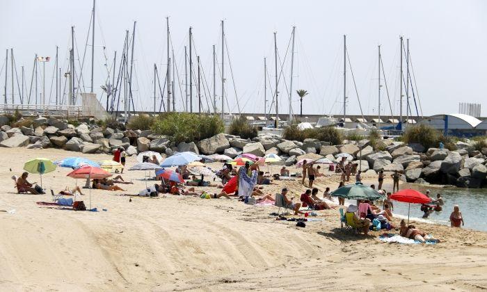 La platja de Llavaneres