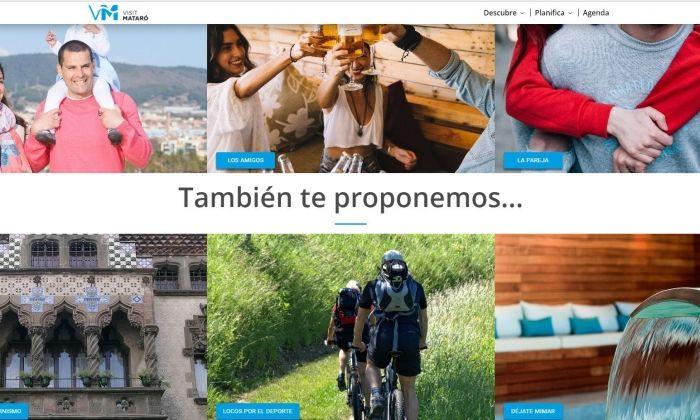 La web de promoció de ciutat