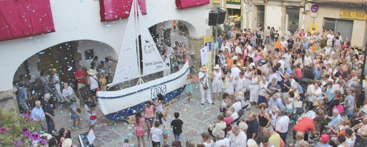 Sant Zenon, Festa Major d'Arenys de Mar