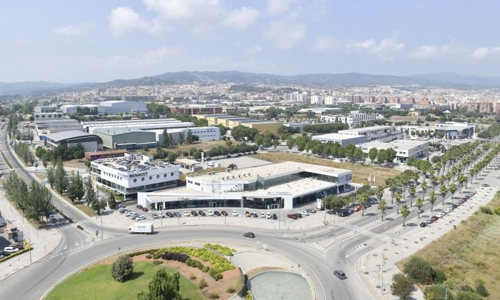 Polígon industrial a Mataró. R. Gallofré