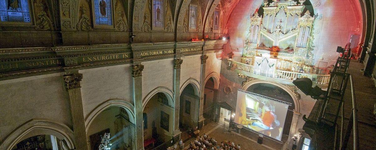 El monumental orgue de Santa Maria