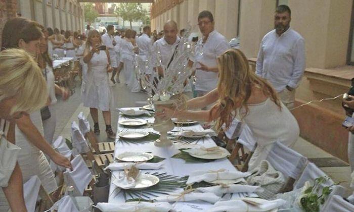 L'edició anterior del Sopar en Blanc