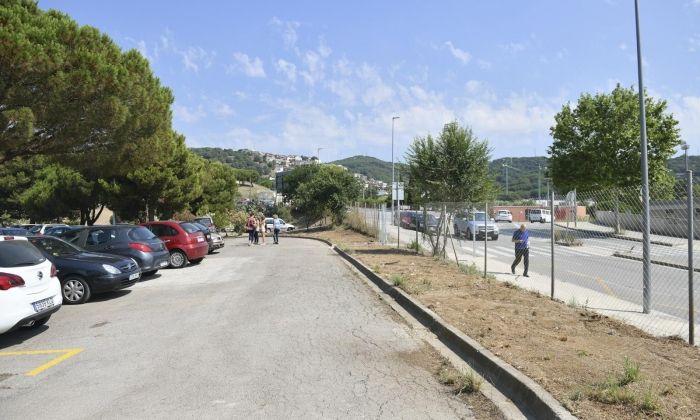 El nou aparcament. Foto: R.Gallofré