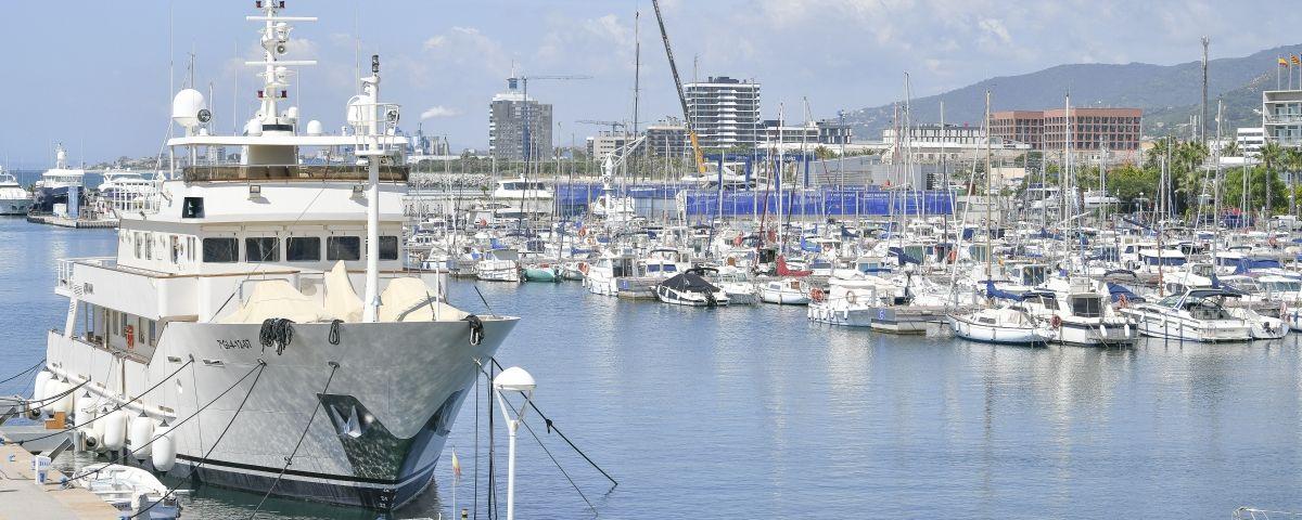 Vista del Port de Mataró. Foto: R. G.