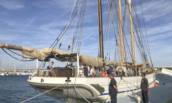 El vaixell Santa Eulàlia