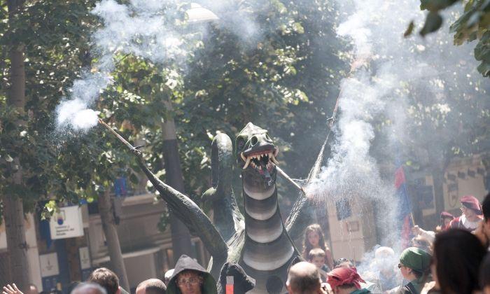 El Drac protagonitzarà el correfoc de divendres a la nit