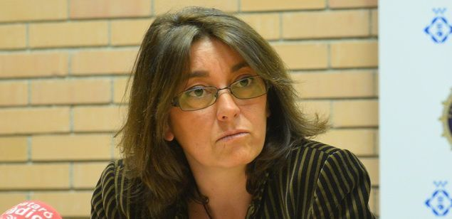 La regidora Núria Calpe