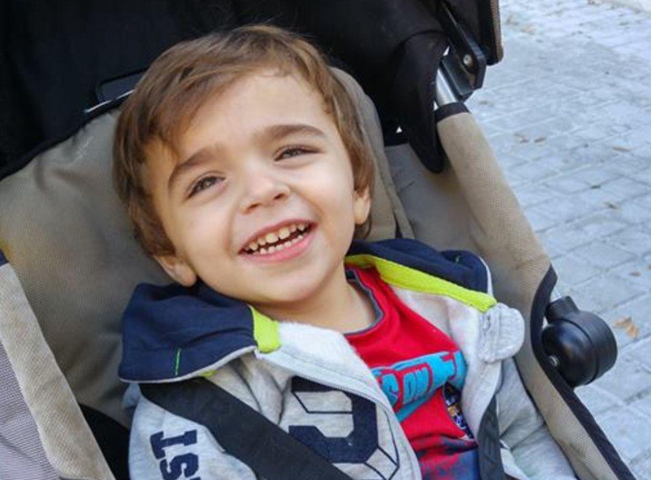 Aleix Merino / Foto: Un somriure per a l'Aleix