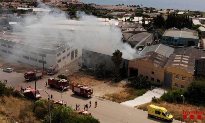 Imatge aèria de l'incendi / ACN