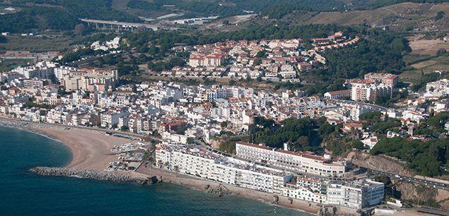 Vista aèria de la comarca del Maresme.