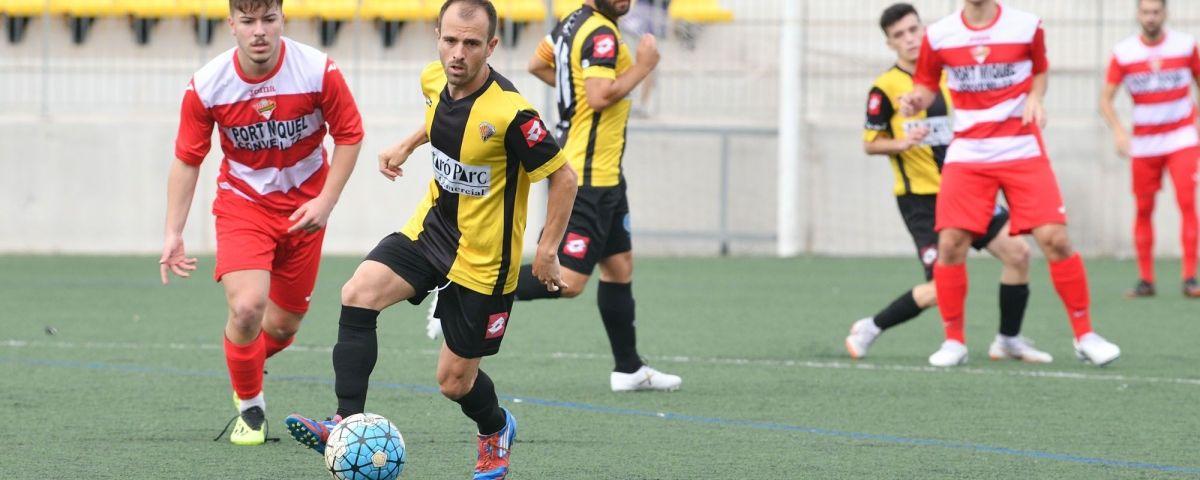 Un partit d'aquesta temporada del CE Mataró.