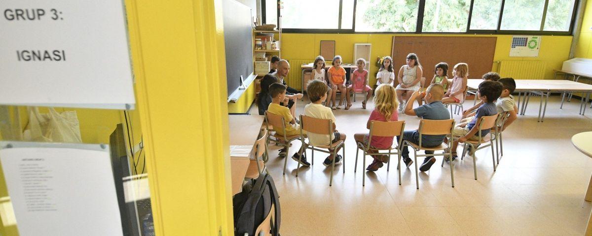 Els professors reclamen millores. Foto: R.Gallofré