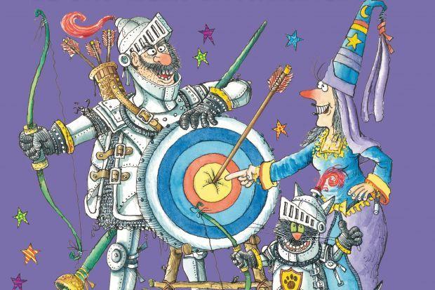 """""""La Brunilda i el Bru, el cavaller entremaliat"""", de Valerie Thomas"""