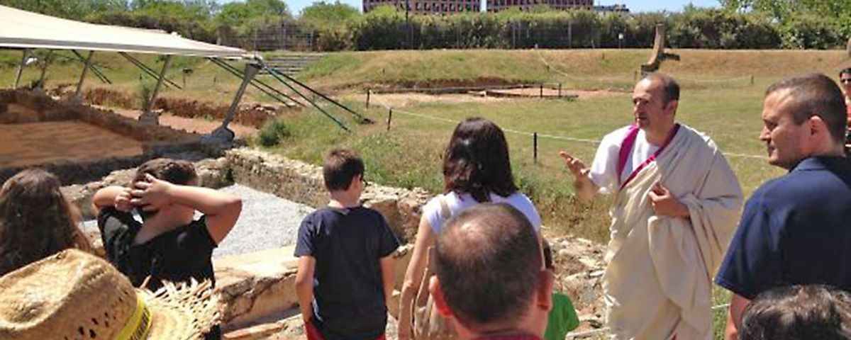 Visita teatralitzada a la vil·la romana de Torre Llauder