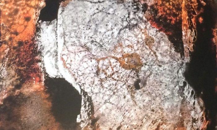 Una de les obres de la mostra
