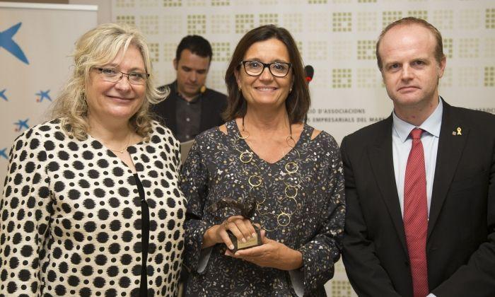 Premi Fagem a la trajectòria empresarial al CEO del Maresme