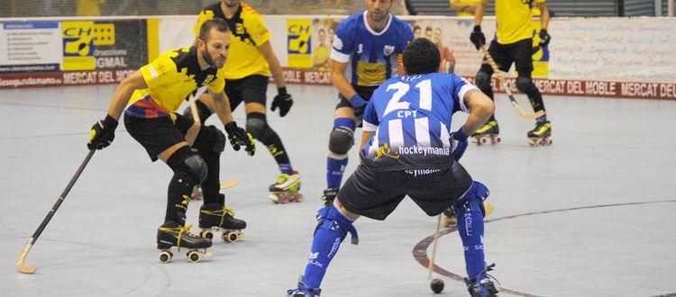Un partit d'aquesta temporada. Foto: CHMataró