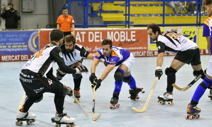 Un partit d'aquesta temporada del CH Mataró. Foto: R.Gallofré