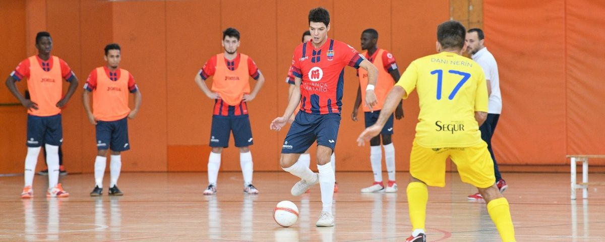 Un partit d'aquesta temporada del Futsal. Foto:  R.Gallofré