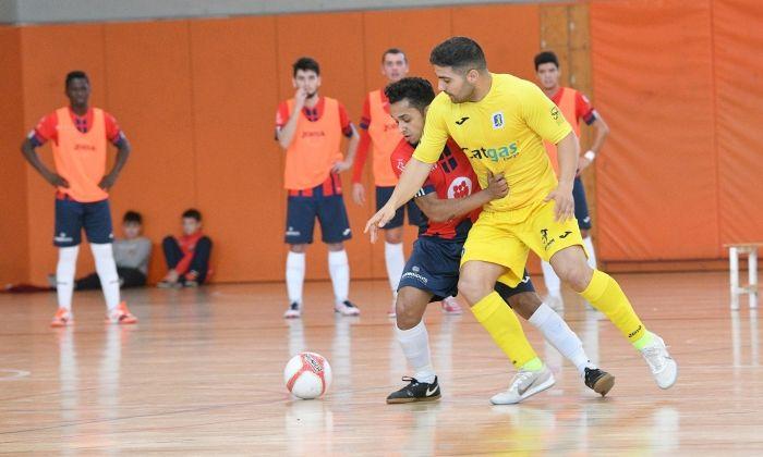Un partit del Futsal Mataró d'aquesta temporada.