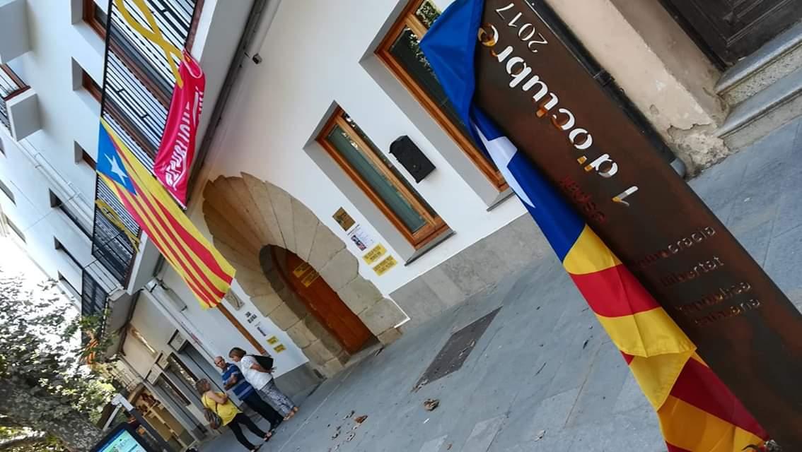 El monument. Foto: Ajuntament Arenys de Munt
