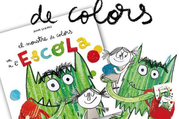 El monstre de colors va a l'escola, d'Anna Llenas