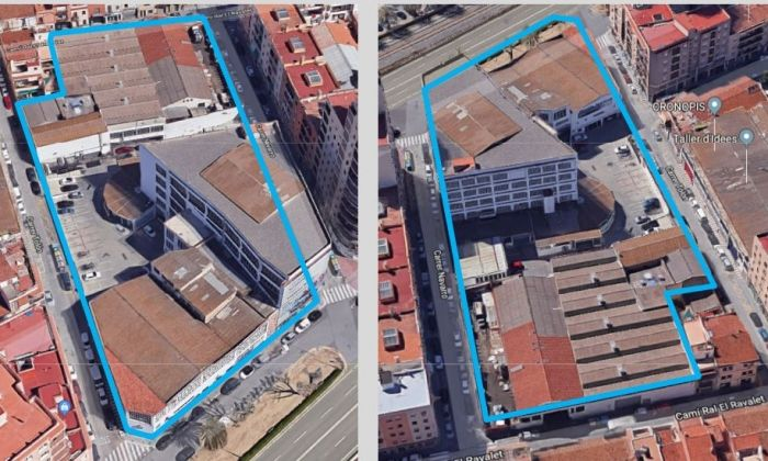 El sector que es remodelarà. Foto: Ajuntament de Mataró