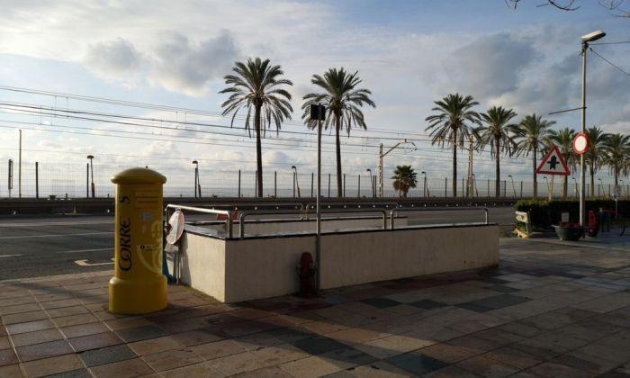 El pas inferior. Foto: Ajuntament de Vilassar de Mar