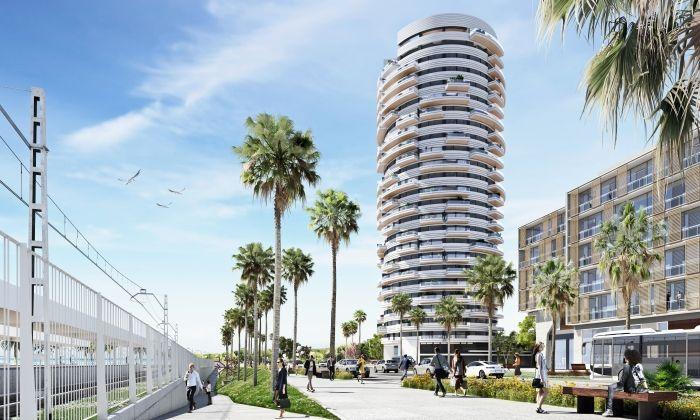 La Torre Barceló, de 24 plantes i ja amb llicència. Imatge: Opalus Arquitectura