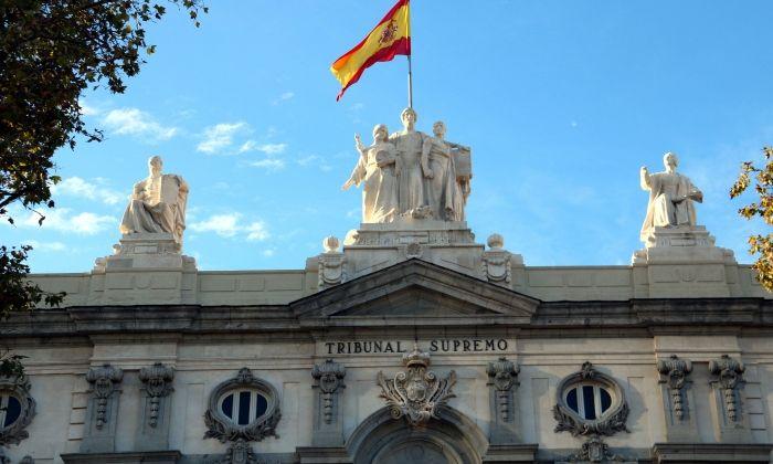 Façana del Tribunal Suprem, a Madrid. Foto: ACN