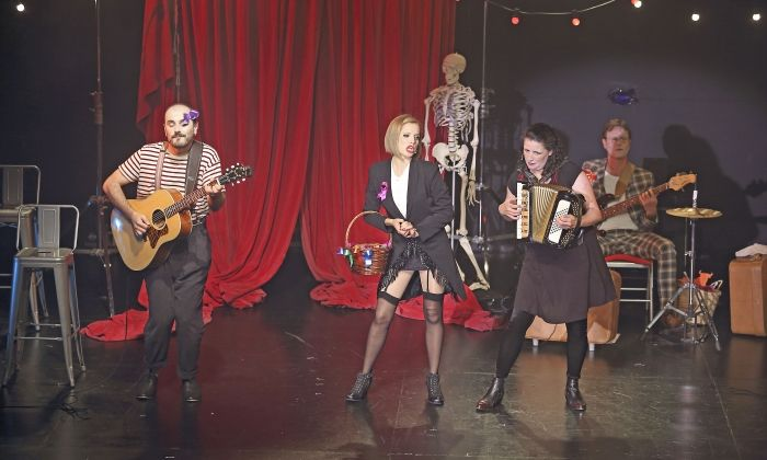 Un moment de l'espectacle 'CabaretA'
