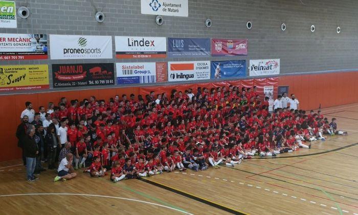 Presentació de tots els equips de l'entitat. foto: Futsal