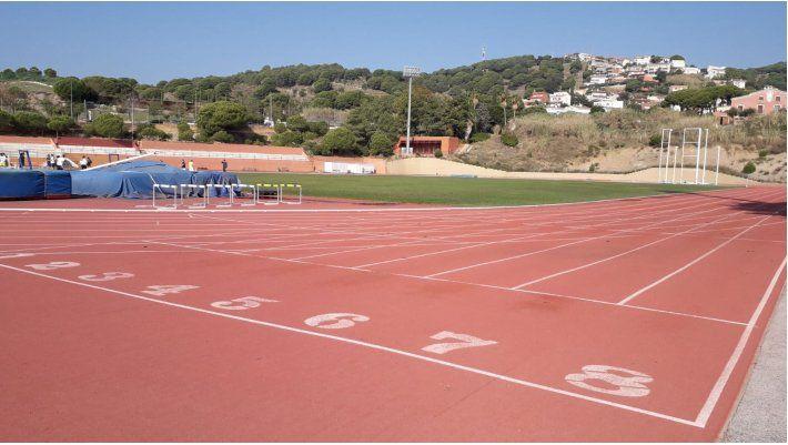 Pistes d'atletisme. Foto: Ajuntament