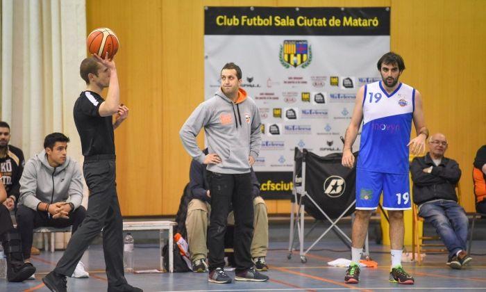 L'entrenador Alberto Peña.