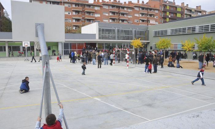 L'escola Maria Mercè Marçal. Foto: R. G.