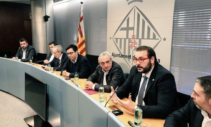 Presentació de la plataforma conjunta. Foto: Ajuntament de Mataró