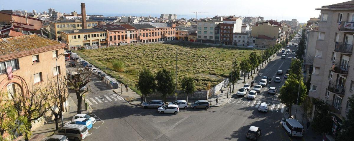 Vista del solar de Can Fàbregas. Foto: R.Gallofré