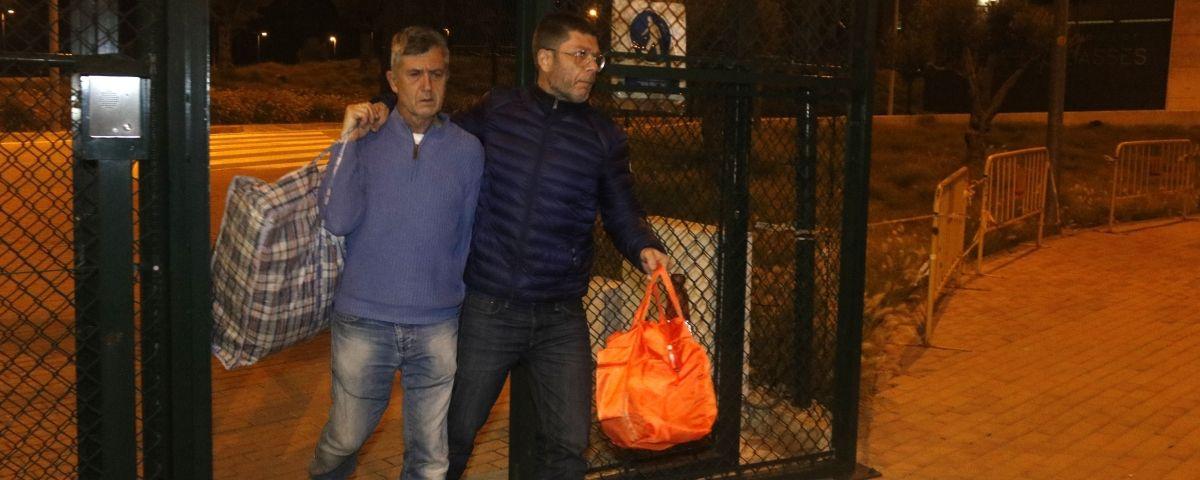 Jordi Magentí, sortint de la presó. Foto: ACN