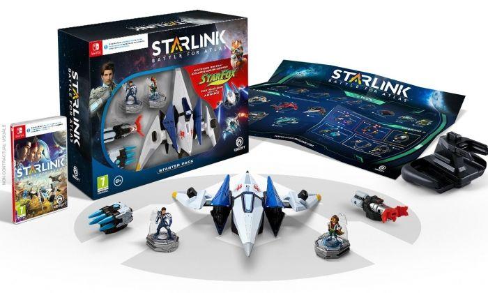 Starlink a Switch compta amb Fox McCloud i el seu Arwing, de la saga Starfox.