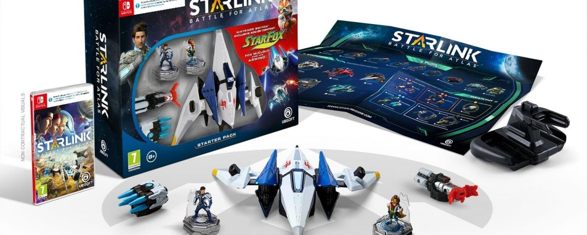 Starlink a Switch compta amb Fox McCloud i el seu Arwing, de la saga Starfox.