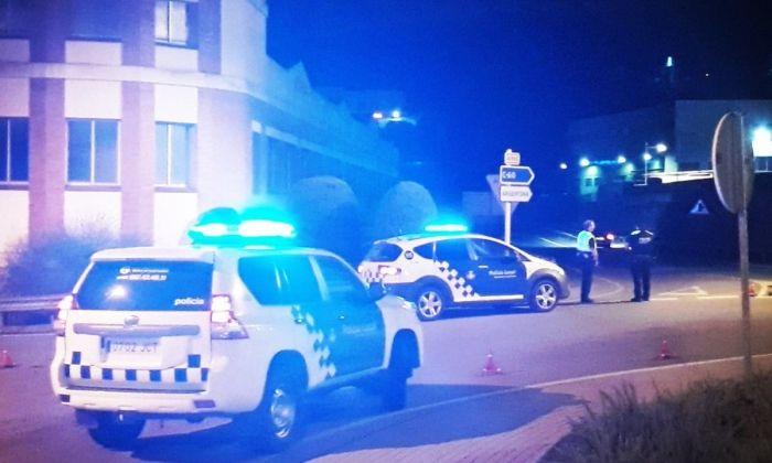 Control policial. Foto: Ajuntament de Dosrius
