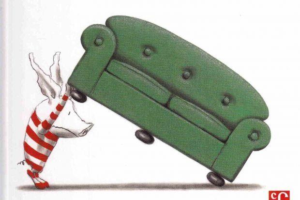 """""""Olívia... i la joguina perduda"""", de Ian Falconer"""
