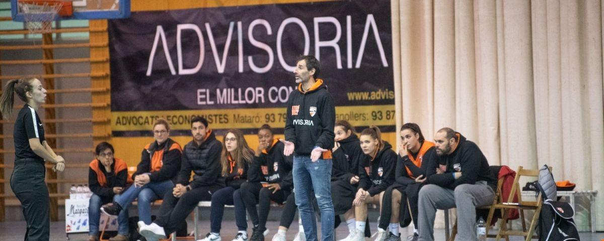 L'entrenador del Boet, Jordi Vizcaíno.