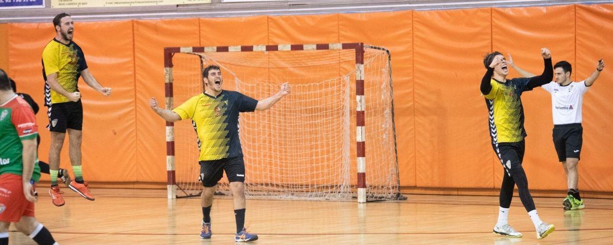 Victòria del Joventut Handbol Mataró.