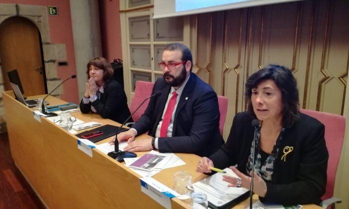 Signatura de l'acord entre Ajuntament i Generalitat