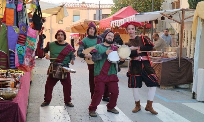 El Mercat Medieval a Sant Vicenç de Montalt